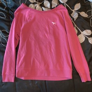 2 PINK Pull-Over Sweatshirts
